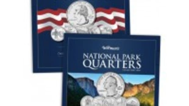 Warman's Quarter Collectors Map Combo
