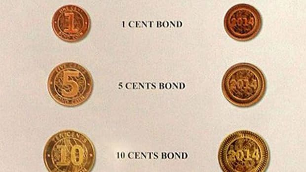 The Zimbabwe government is encouraging awareness and acceptance of the new bond coins.