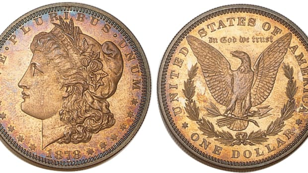Coins like this 1878 eight-feather Morgan dollar may see an increase in demand as the collector market wakes up.