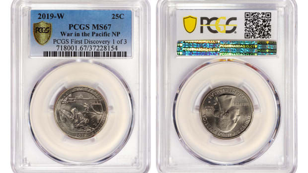 2020-P America the Beautiful Salt River Bay Parks Quarter PCGS MS67 MS 67 First