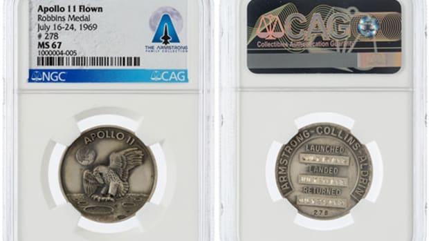 apollo 11 robbins medals