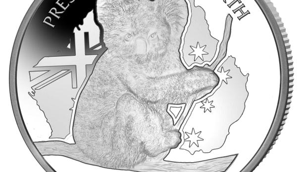 Niue 20 Koala CuNi & Silver