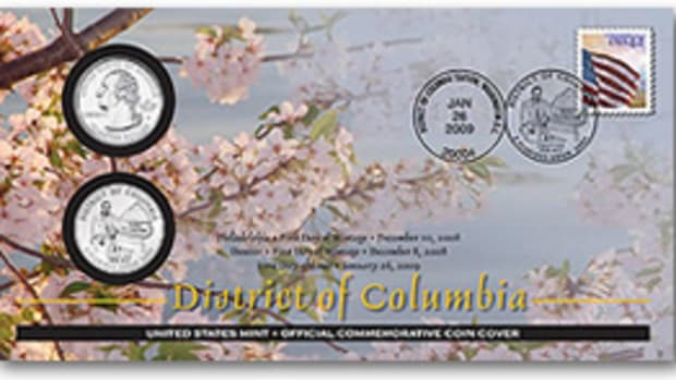 2009-District-of-Columbial-First-Day-Coin-Cover