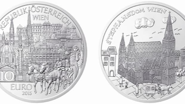 Vienna honored by the seventh coin in the children's series.