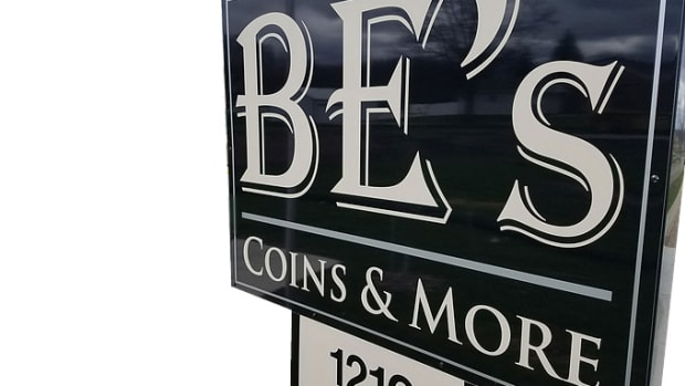 BE's coins & more logo