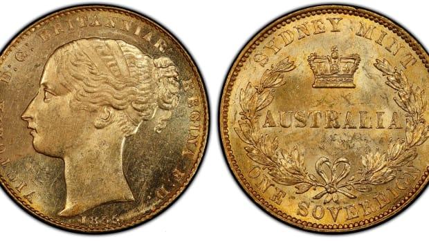 Australia 1855 Sovereign