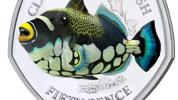 BIOT 21 Sea Creatures - Triggerfish 50p