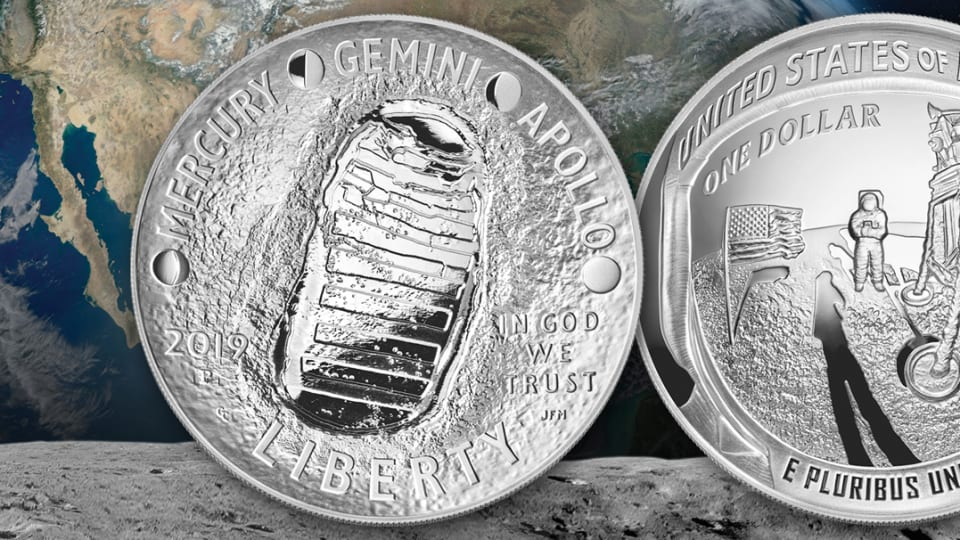 Apollo 11 Coin Lands Top COTY Honors