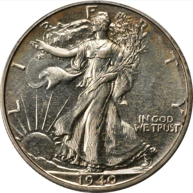 1940 Walking Liberty Half Dollar obv