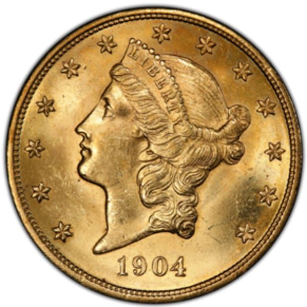 US_Gold_$20_Liberty_1904_obv