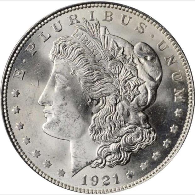1921 Morgan obv