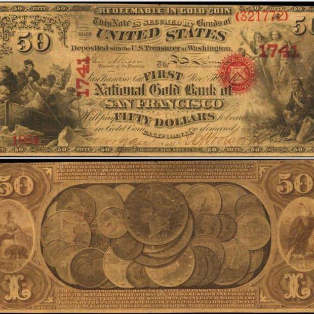 1870 National Gold Bank