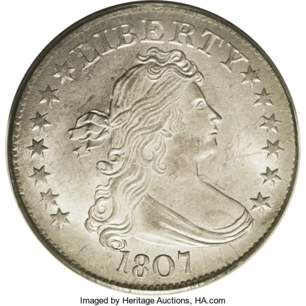 1807 Draped Bust obv