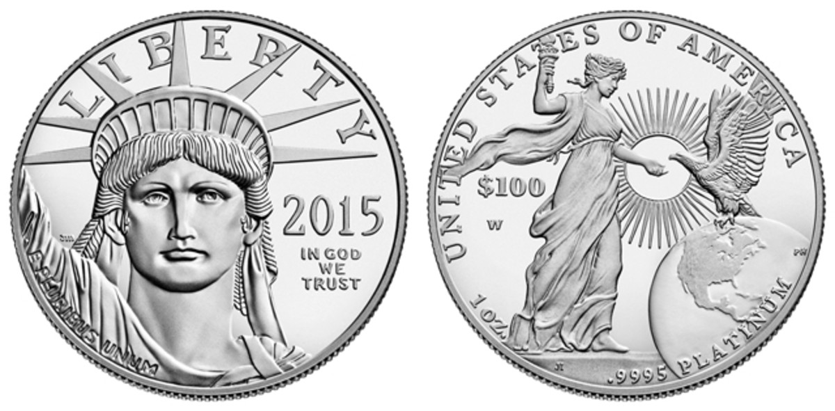 The future of the 2015 Platinum Eagle is dependent on the availability of platinum for the Mint.