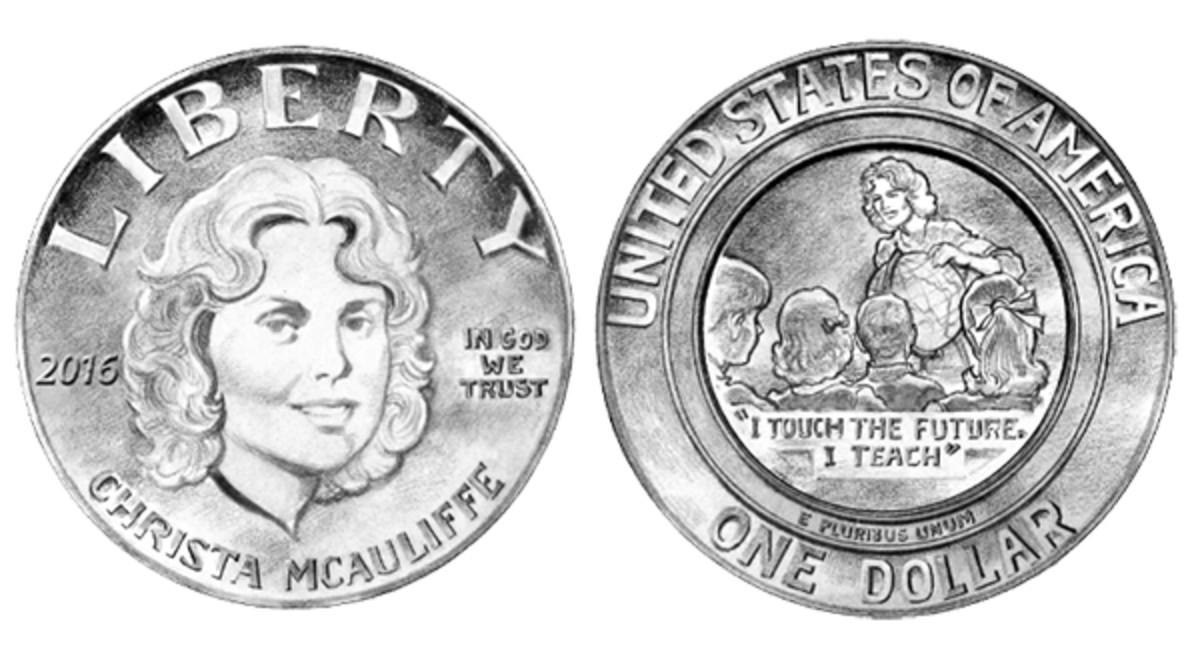 mcauliffe silver dollar