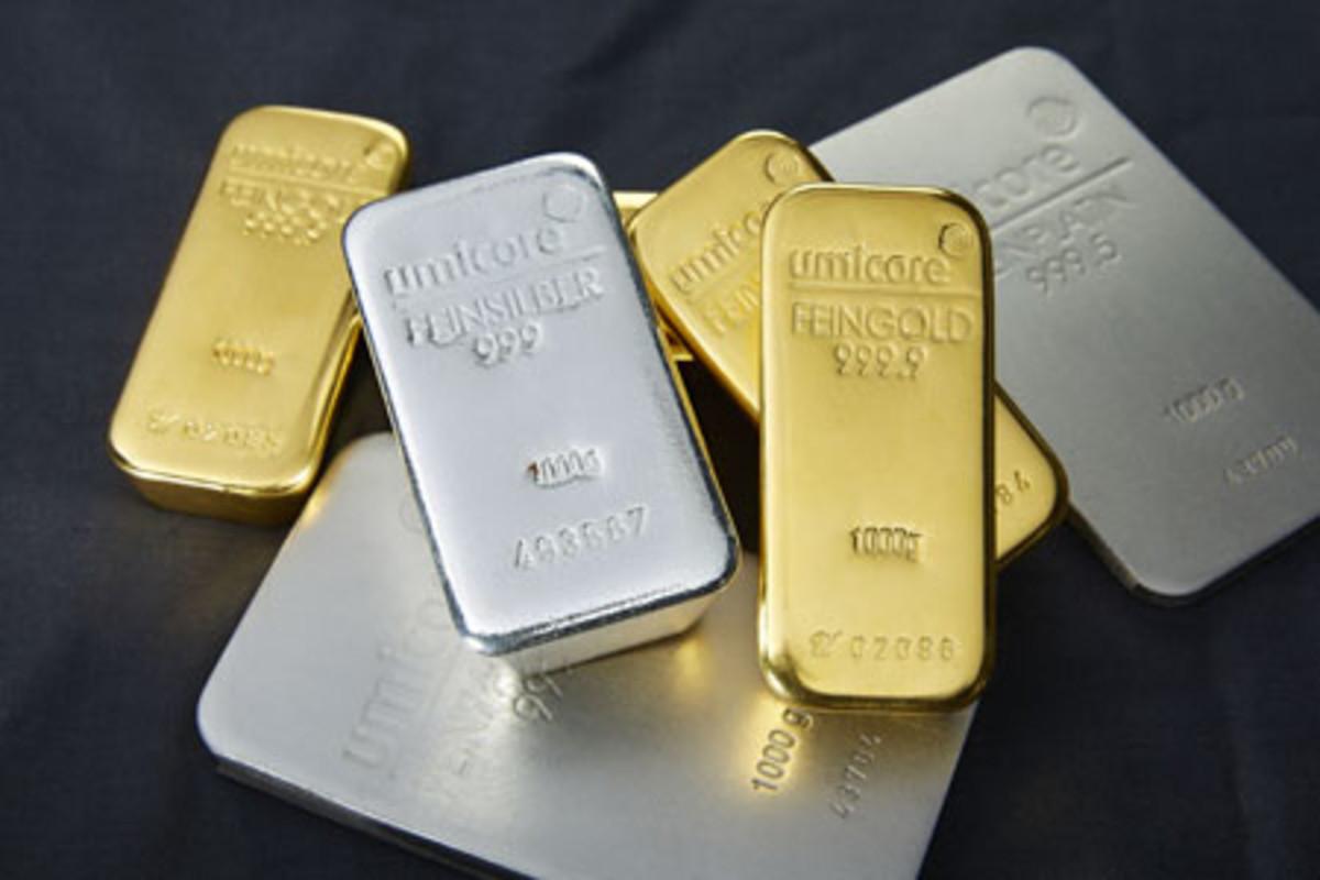 precious metals bars
