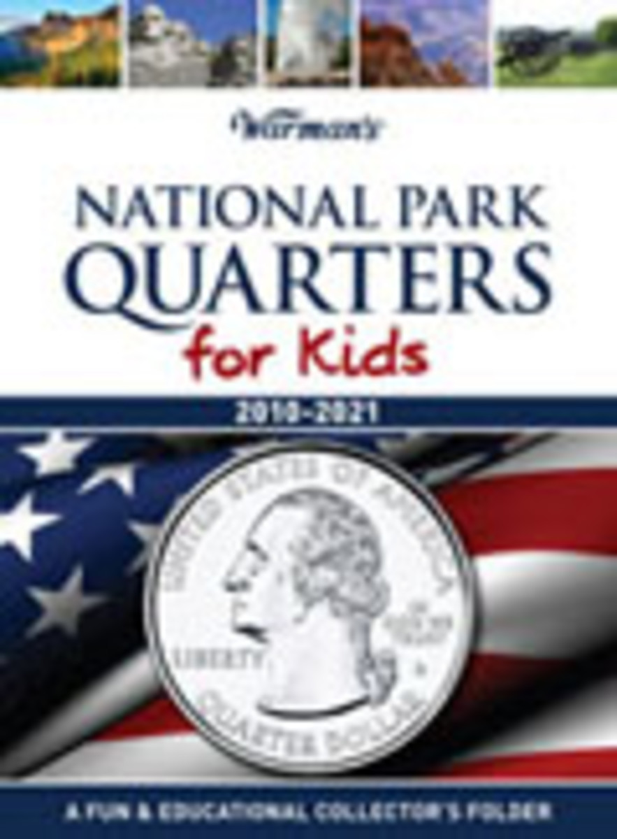 Warman's National Park Quarters for Kids Coin Folder