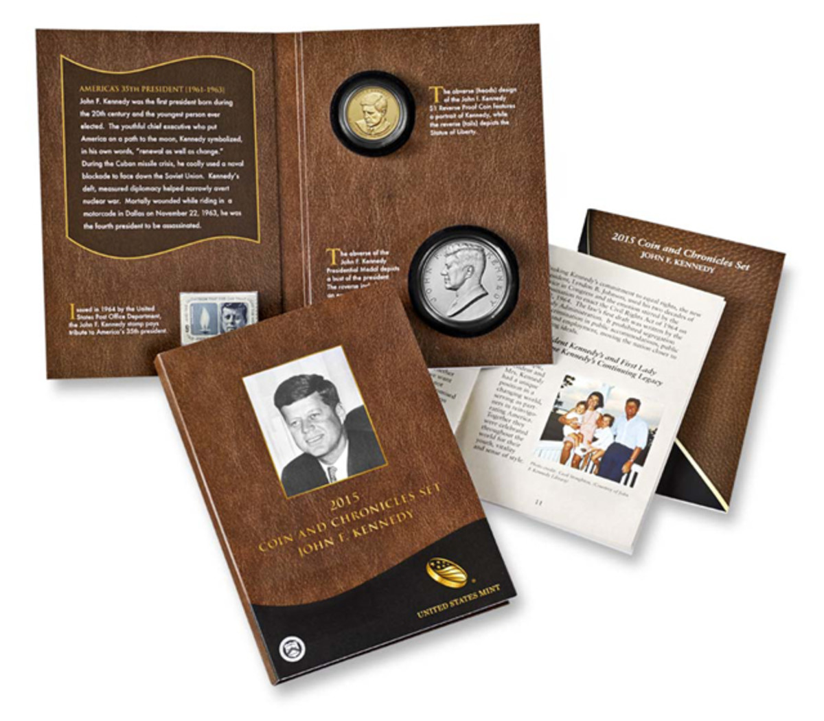 The 2015 Kennedy Coin and Chronicles set, unlike its predecessors, did not see a quick sellout.