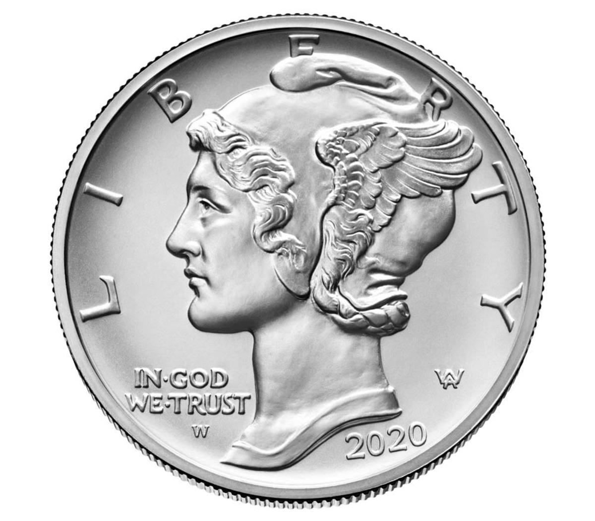 American Eagle 2020 One Ounce Uncirculated Palladium coin