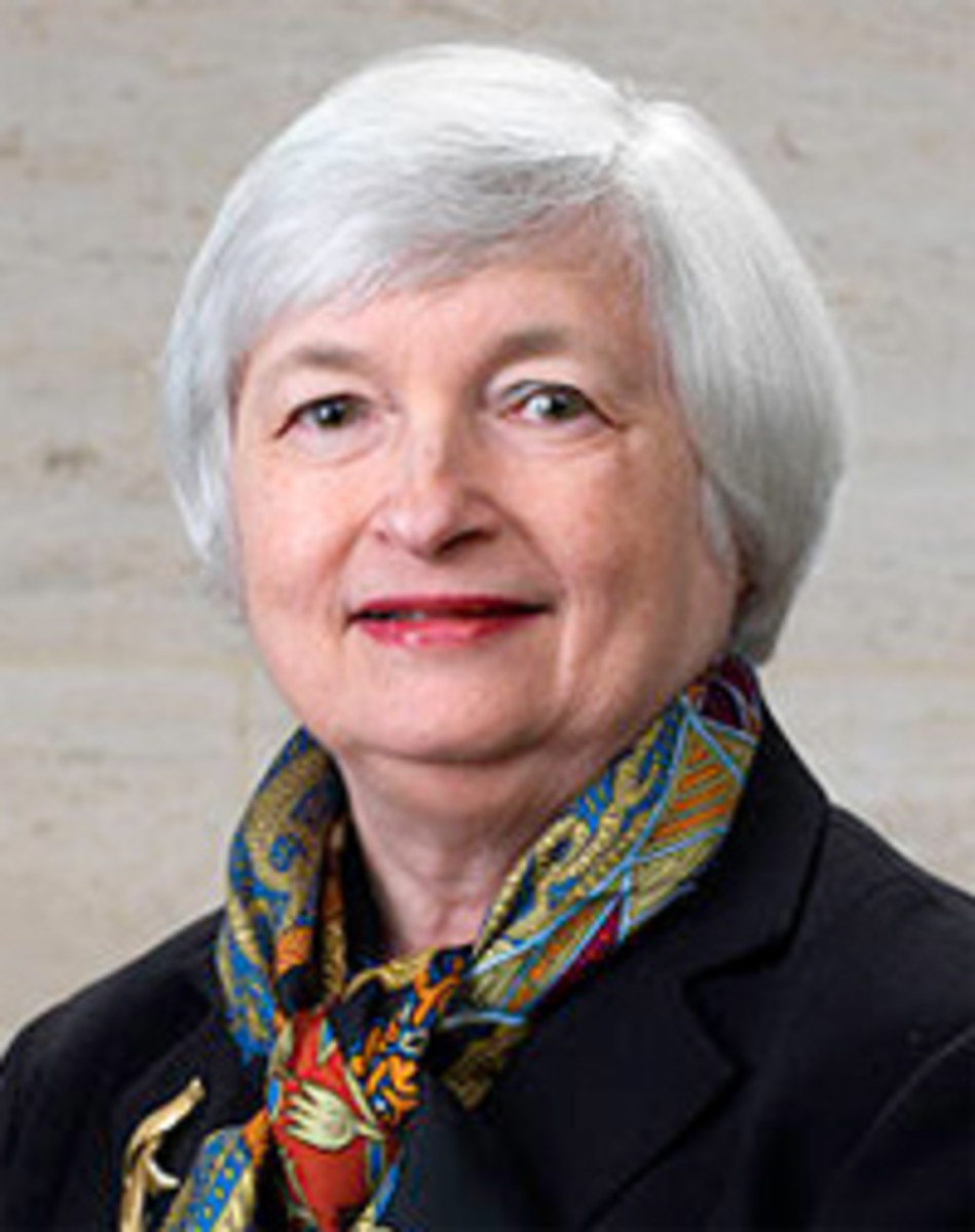 Federal Reserve Chairman Janet Yellen