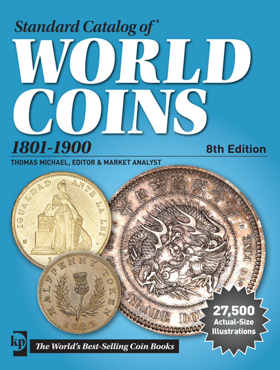 Learn more about past coins of Ireland in the Standard Catalog of World Coins, 1801-1900, 8th Edition.