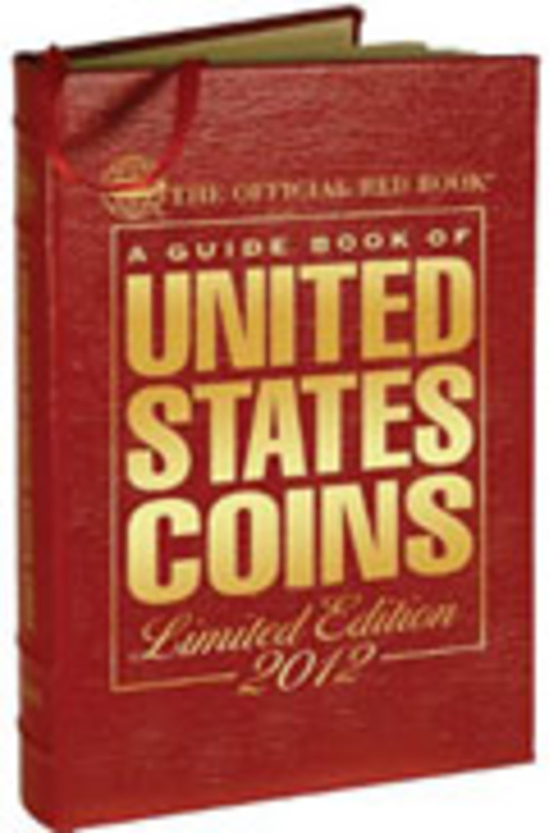 2012 Guide Book of United States Coins Red Book Leather Edition