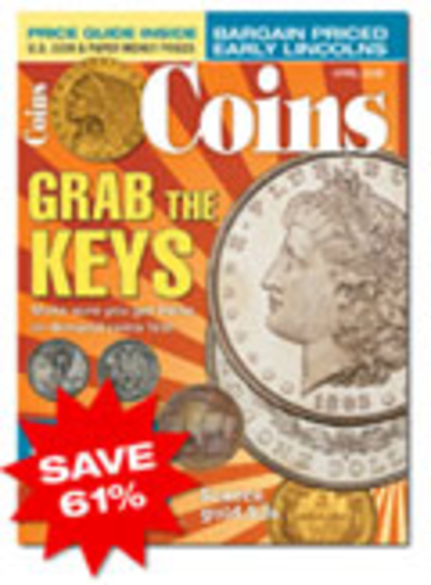 Coins Magazine One Year Subscription - U.S.