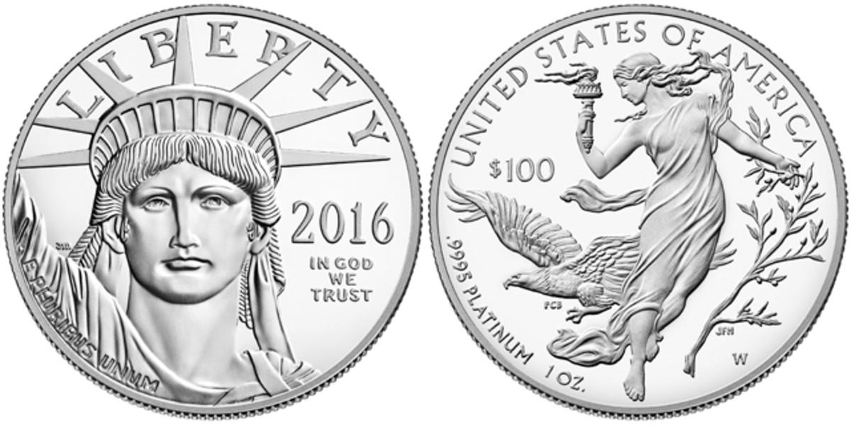 The 2016-W $100 platinum proof Eagle.