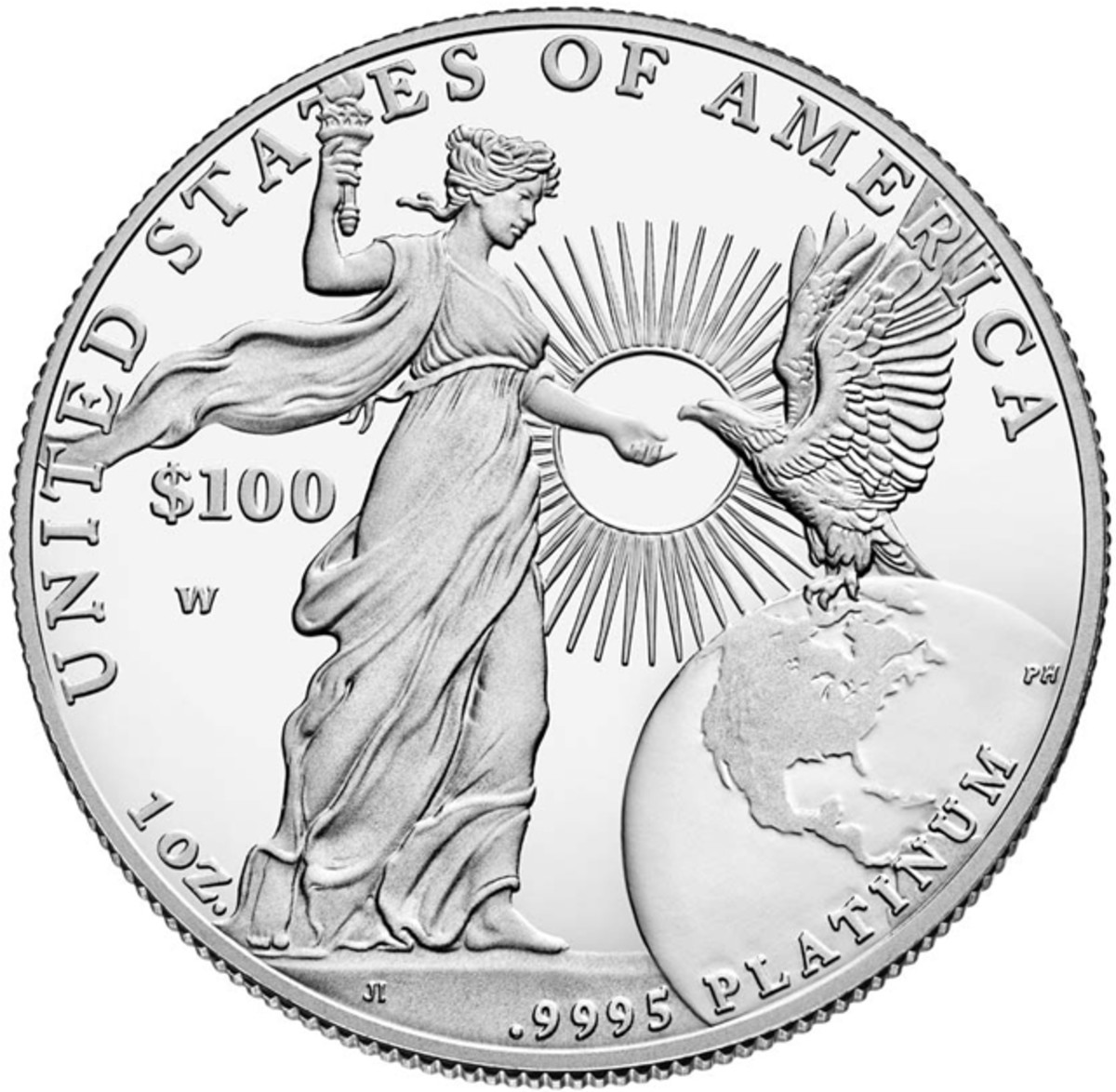 The lower mintage 2015-W platinum proof Eagle commands high prices on the secondary market.