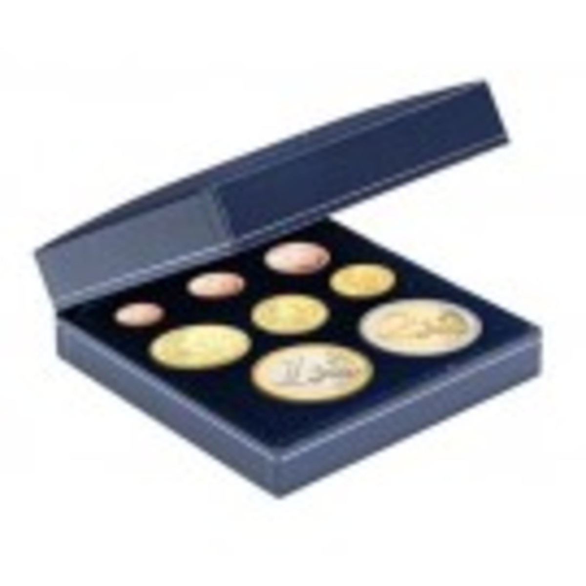 Small Customizable Leatherette Multiple Coin Case