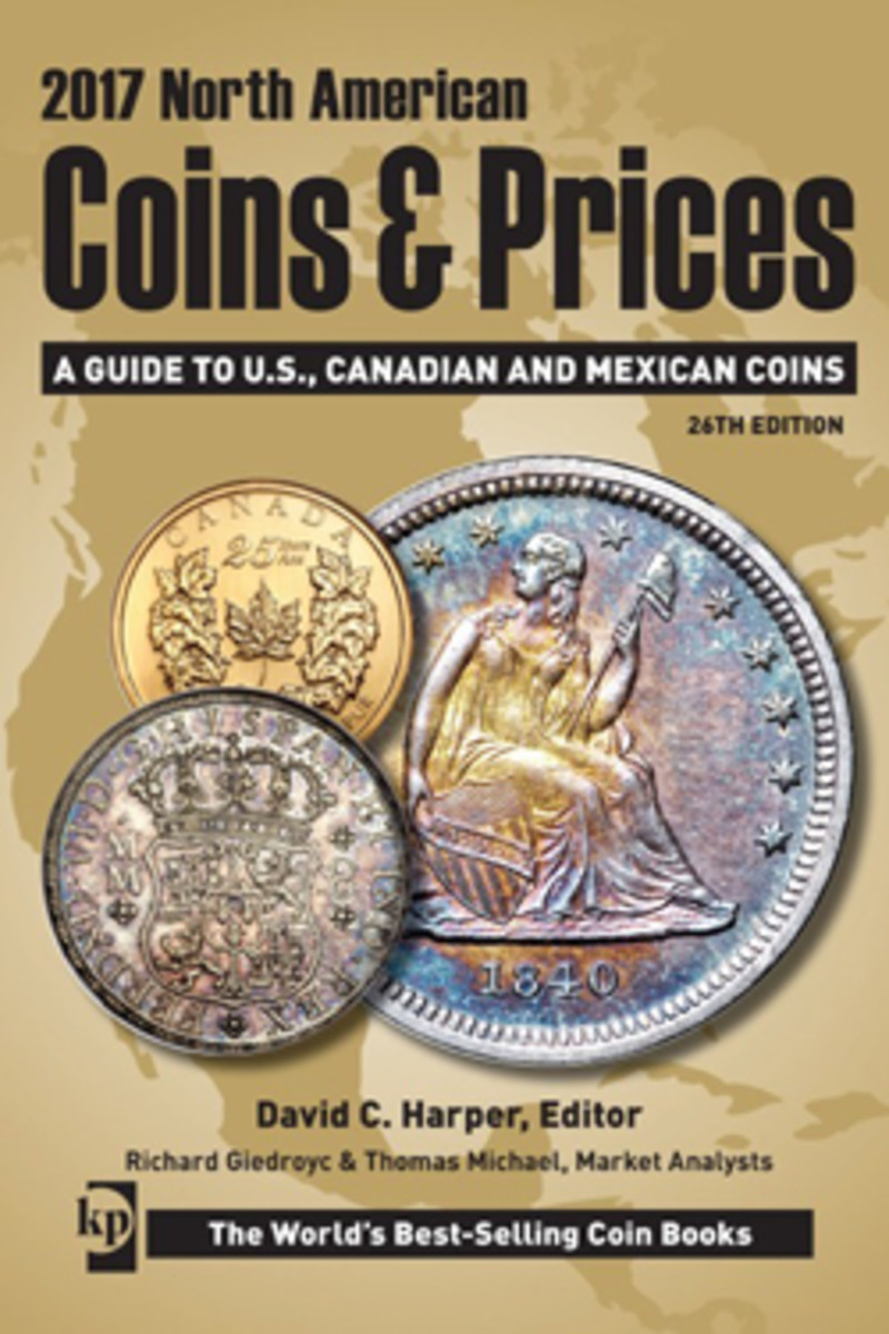 Five books featuring updated listings and prices for world coins spanning 1601 to present are available in the Standard Catalog of World Coins 5 Book Set.