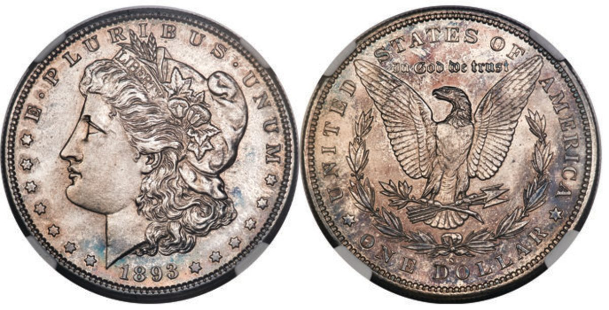 1893-S Morgan dollar that realized $150,000.