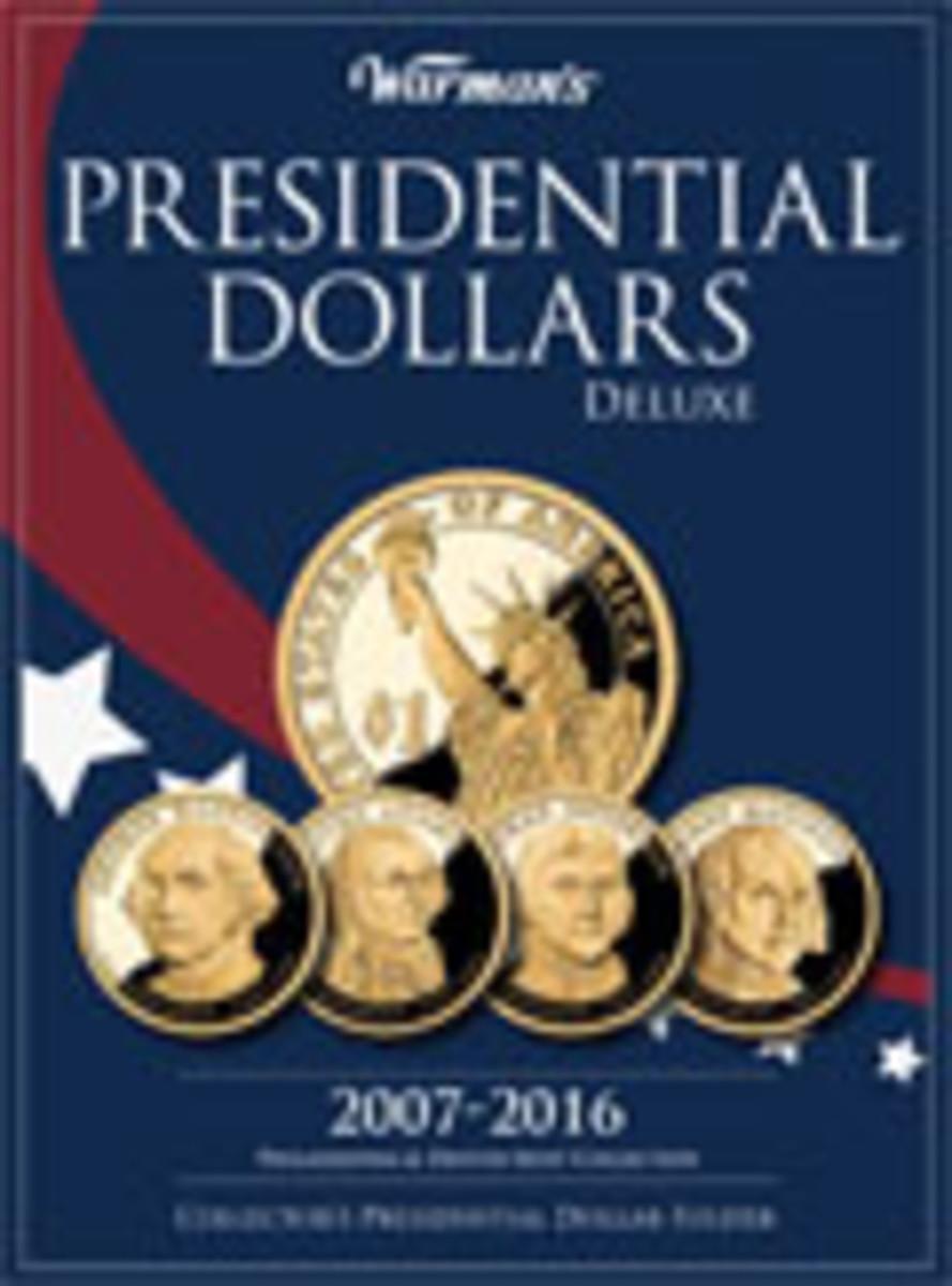 Presidential Dollar 2007-2016 Deluxe Collector's Folder