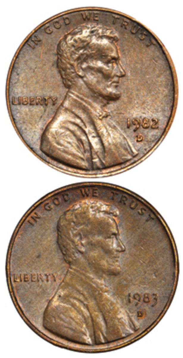 Two unique coins that cost the finders face value were sold for a combined total of nearly $36,000. That's a tidy profit on a two-cent investment.