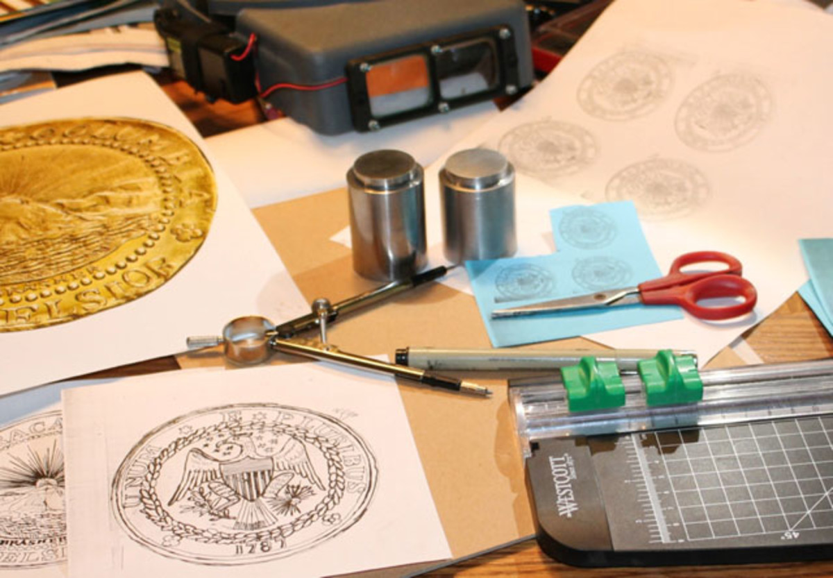 Crafting the ANA Brasher Doubloon reproduction
