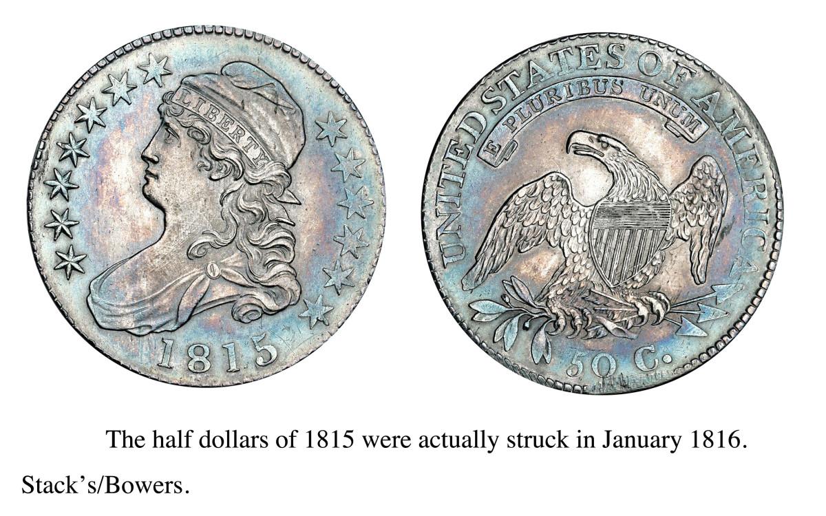 1815 Half Dollar