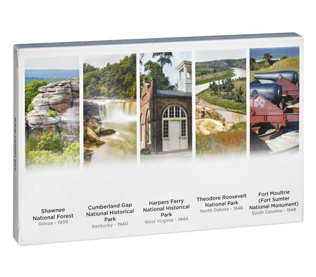 The Mint says an incorrect image was used for the Cumberland Gap National Historic Park on the 2016 America the Beautiful Quarters Proof Set packaging.