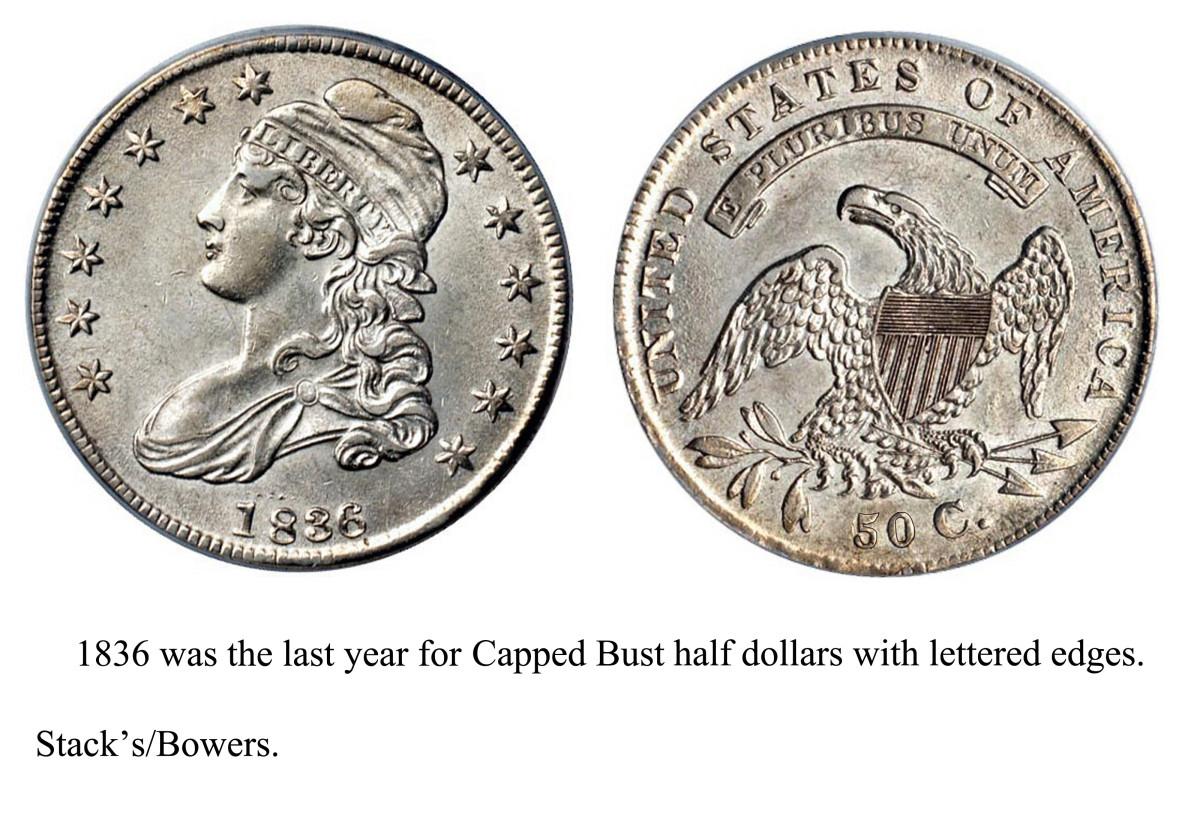 1836 Half Dollar