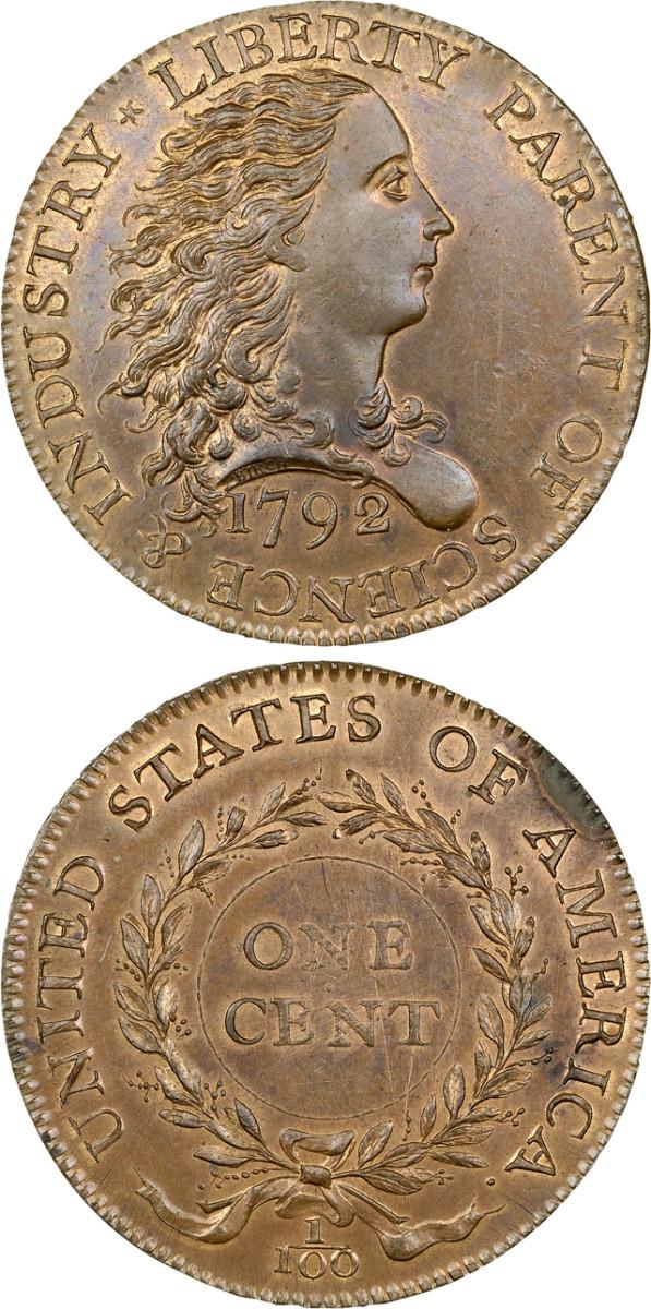 The 1792 Birch cent was