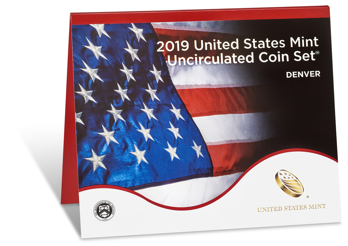 2019 20-coin uncirculated sets went on sale May 14