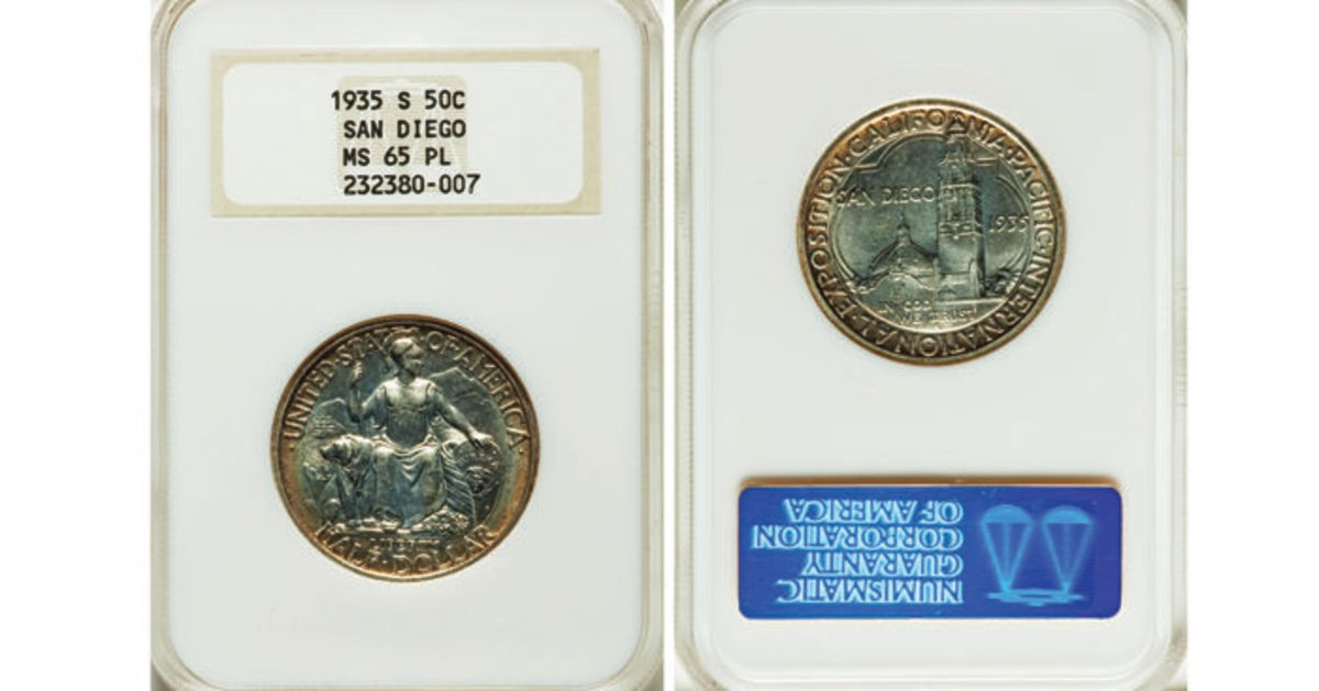 California Pacific International Exposition dollar