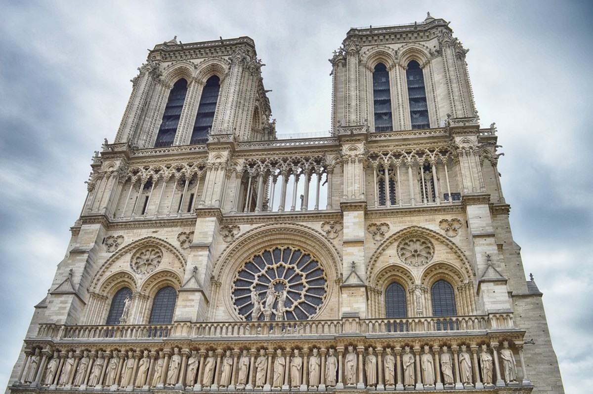 The beautiful Notre Dame.
