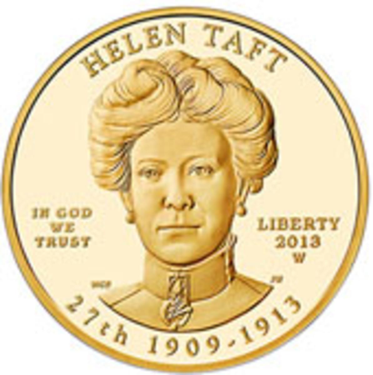 Helen Taft First Spouse Coin
