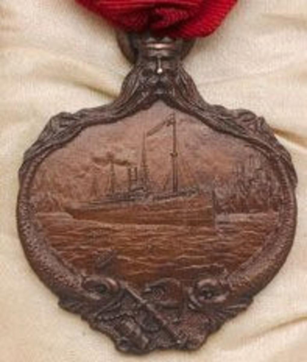 Carpathia medal AE