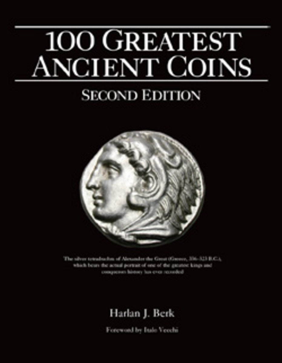 """""""100 Greatest Ancient Coins, Second Edition"""" by Harlan J. Berk"""
