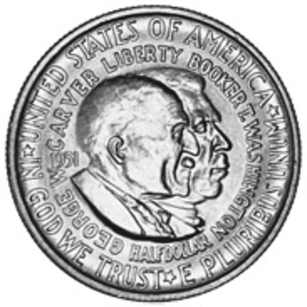 The Booker T. Washington and George Washington Carver half dollar was the the final commemorative half among classic U.S. commems.