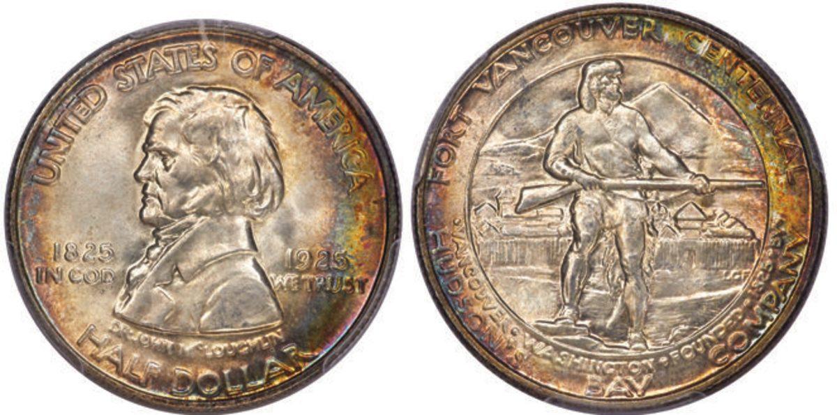 1925 Fort Vancouver Centennial half dollar.