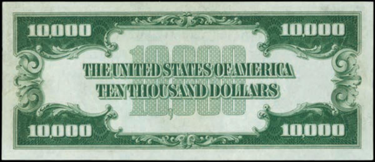 Reserve of the $10,000 note.