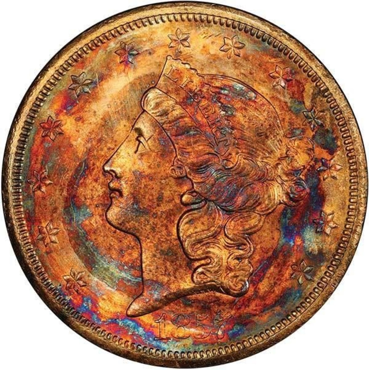 Lot# 493, a $10 1857-S PCGS MS67 CAC is estimated to sell between $300,000 and $350,000.