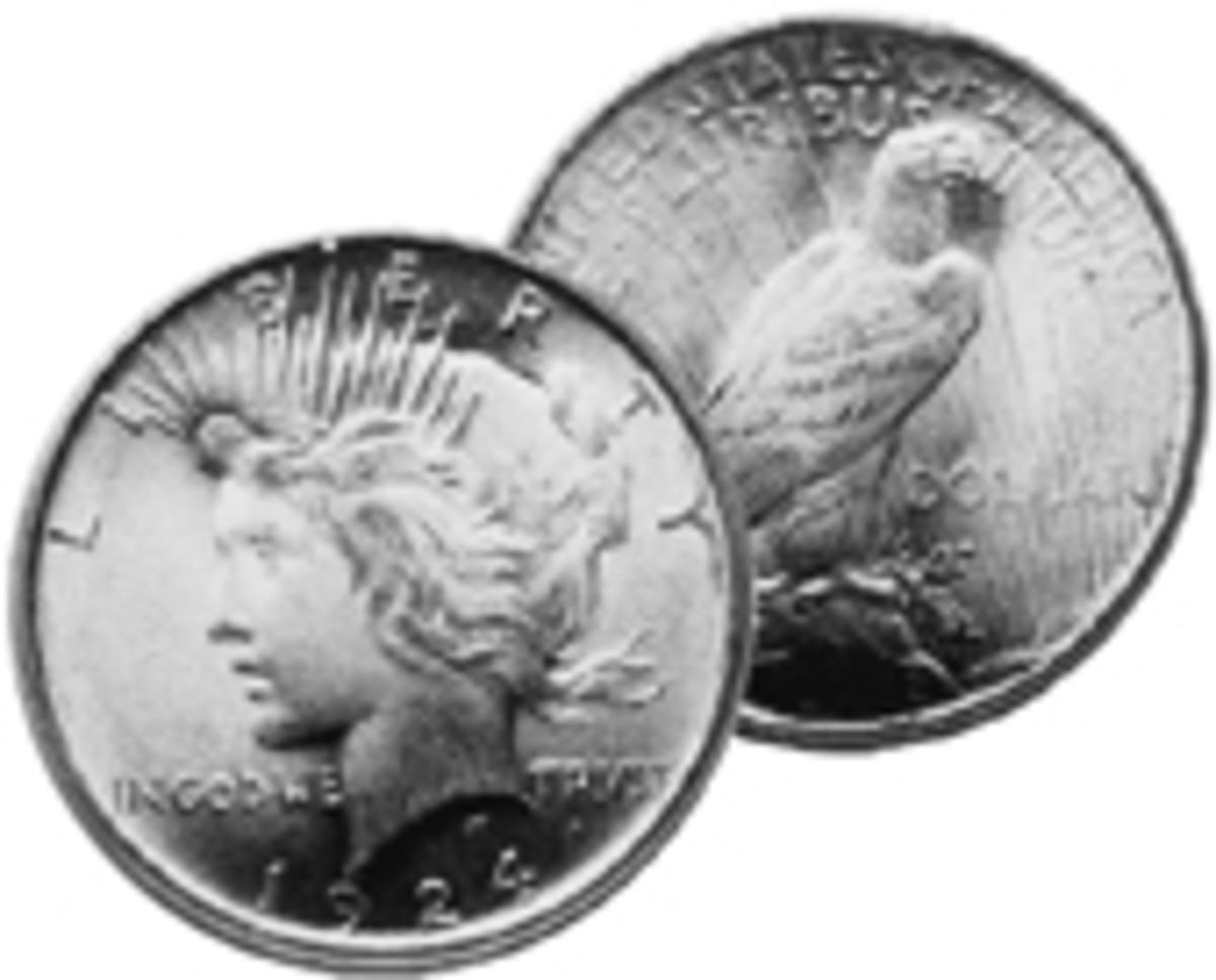 Someday collectors might find that the 1924 Peace dollar price breaks away from its 1922 and 1923 cousins.